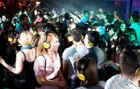 Silent disco gaining fans