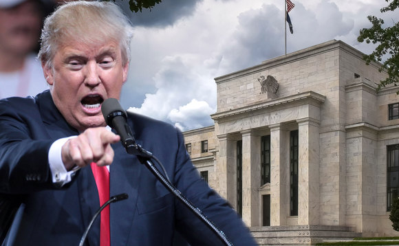 The US President attacked the Fed chair for not going for a deeper rate cut. Photos: iStockphoto/Gage Skidmore/Flickr CC BY-SA 2.0