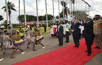 Museveni in Kenya for golden jubilee fete