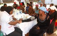 Kibuli residents receive free medical treatment