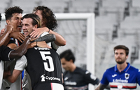 Juventus win ninth Serie A title in a row
