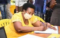 More aspirants pick NRM nomination forms