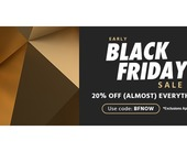Black Friday has arrived at Monoprice with 20 percent off nearly everything, even sale items