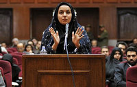 Iran hangs woman convicted of murder