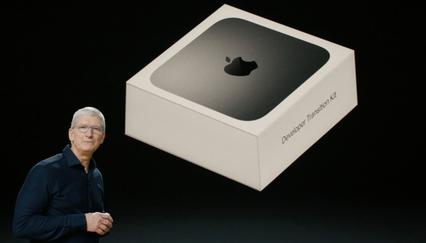 Geekbench results for the Apple Silicon Developer Transition Kit surface online
