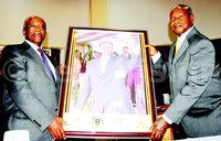 Today in history: Museveni, Mbabazi honour each other