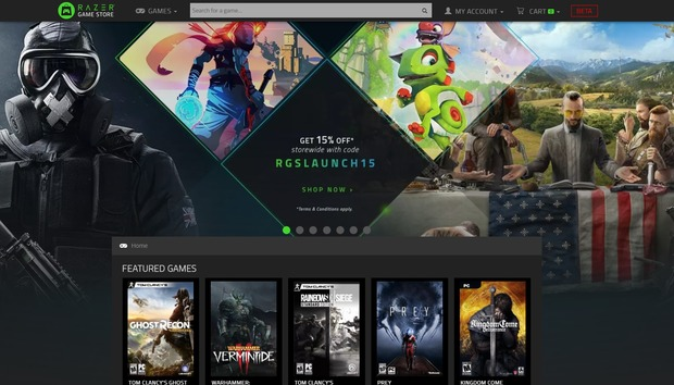 The Razer Game Store is a Steam alternative that gives you