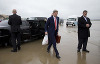 What's in your briefcase? Putin ribs Kerry ahead of Syria talks