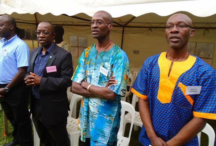 ome of the alumni of yenga eminary during mass