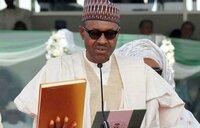 Nigerian President Buhari sworn in for second term