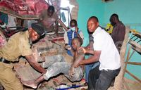 One dead, four injured as lorry rams into building