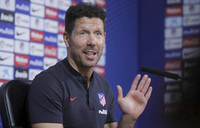 Diego Simeone extends Atletico deal to 2020