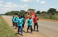 Journey of Hope: Walkers in Iganga