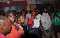 Kikuubo cosmetics traders demonstrate against URA operations