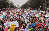 US cities gear up for anti-Trump Women's March 2
