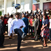 Work without play....footballer Museveni