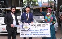 COVID-19: Jan Japan Auto Motors donates 8 vans