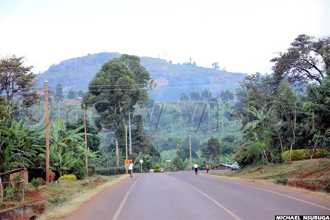 view of part of the hilly terrain of apchorwa one of the districts in ebei subregion
