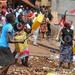 Jinja market food vendors protest over garbage